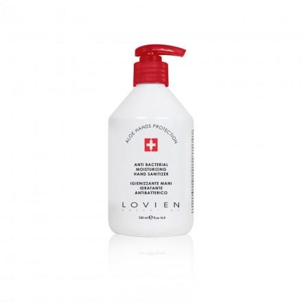 Dezinfekuojanti, antibakterinė rankų apsauga su Aloe Vera